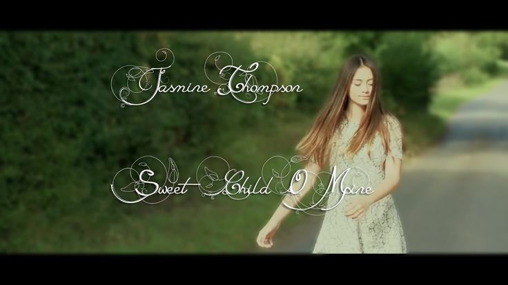 Guns N' Roses - Sweet Child O' Mine (Cover by Jasmine Thompson) +Lyrics <3 Beautiful!