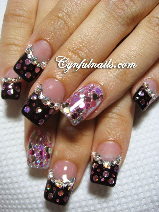 Gel Nail French Tip Designs