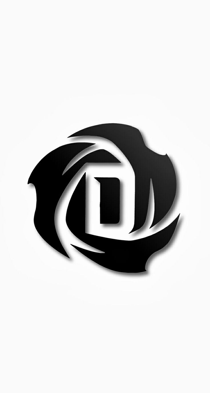 d rose logo logo design pinterest logos d and roses