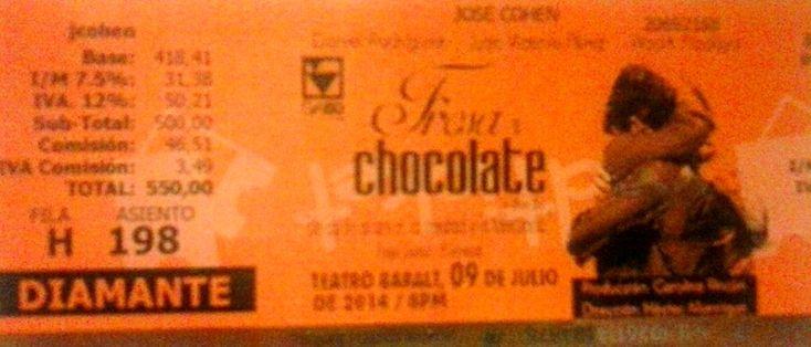 Fresa y Chocolate en el Baralt