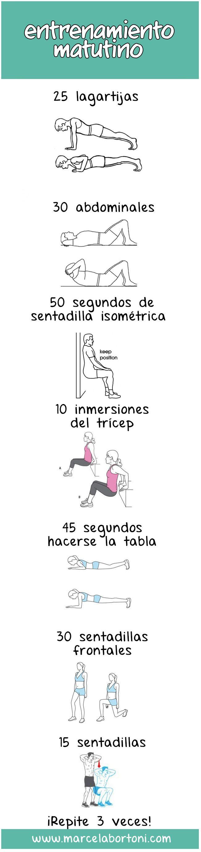 ¿Qué haces para hacer ejercicio?