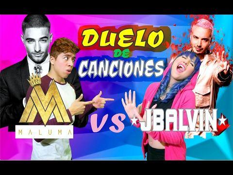 MALUMA vs J BALVIN | Duelo de Canciones | BATALLA DE REGGAETON - YouTube