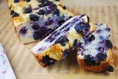 Georgie's Heavenly Blueberry Lemon Pound Cake (Paleo, gluten free, dairy free)