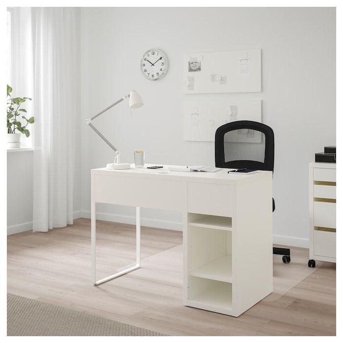 MICKE Schreibtisch, weiß, 105x50 cm. Hier kaufen IKEA