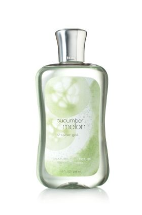 Cucumber Melon Shower Gel from Bath and Body Works my favorite and its now disconnected :(