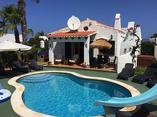 Stunning Villa with Private Heated Pool, Hot Tub, Air Con, Xbox, FREE WI-FI!Holiday Rental in Cala n Bosch from @HomeAwayUK #holiday #rental #travel #homeaway