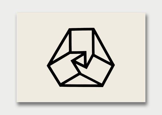Yuken-Boeki Insurance Company logo by Yusaku Kamekura repinned by Awake — http://designedbyawake.com #japan #graphic #design #symbol #logo #icon