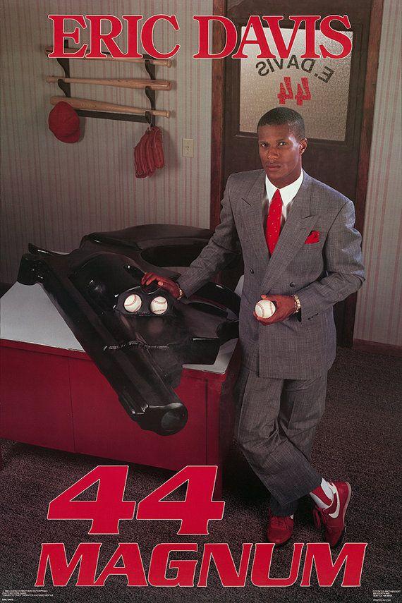 Eric Davis 44 Magnum poster