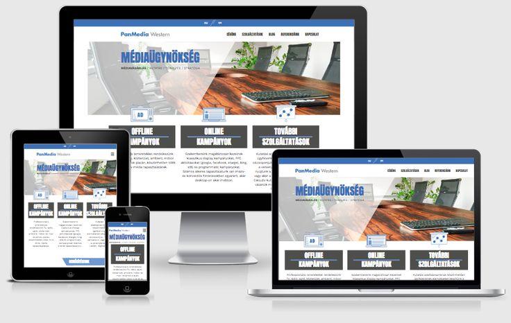 PanMedia Western Agency website (2016, sitebuilding, WordPress dev, design: PanMedia)