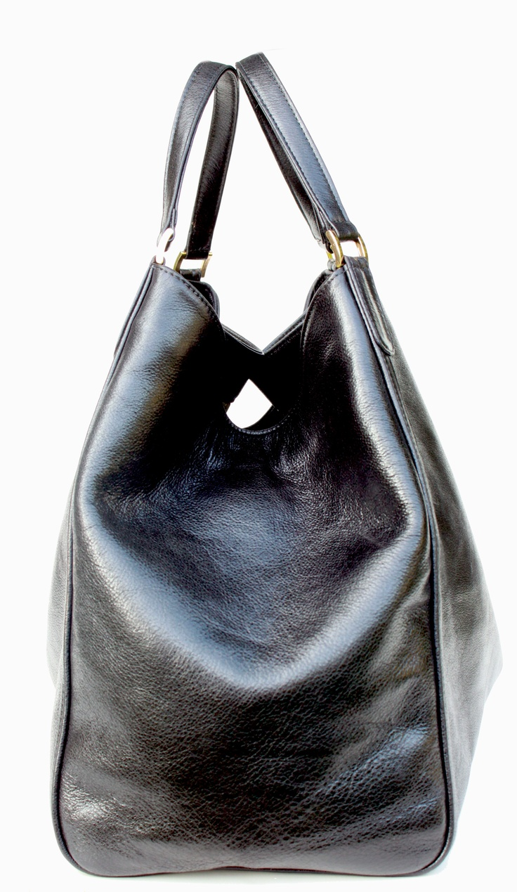 Large Sexy Tote.  a profile of our new silhouette.  I'm sorry -but this is BEAUTIFUL!