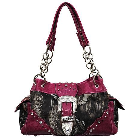 Pink Camo Purses | buckle camo purse handbag previous in camo next in camo