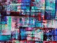 Image result for combine hard edge abstraction abstract expressionism