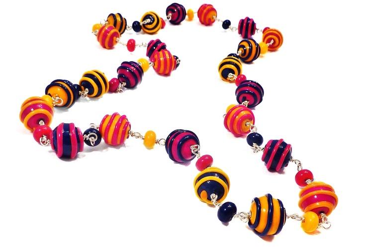 Handmade venetian glass beads by Kin Kin Beads... drool worthy <3