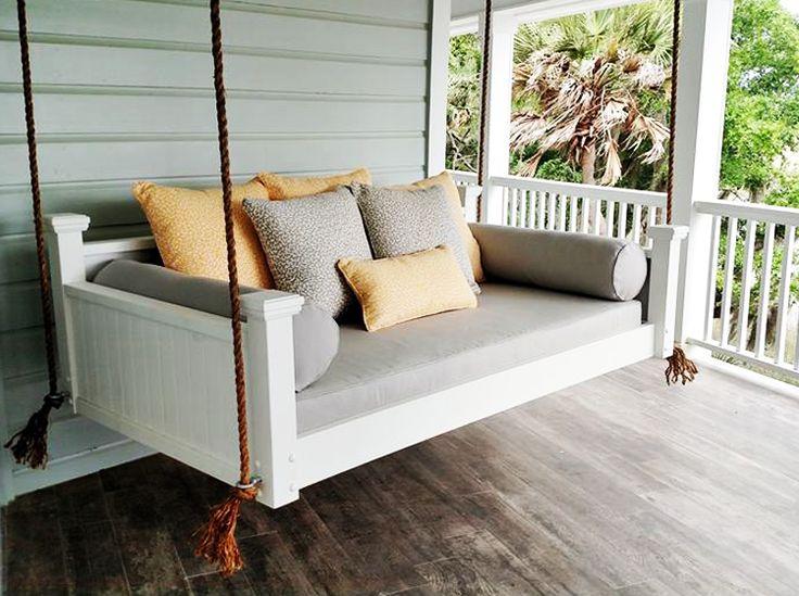 Southern Savannah Hanging Swing Bed by Custom Carolina