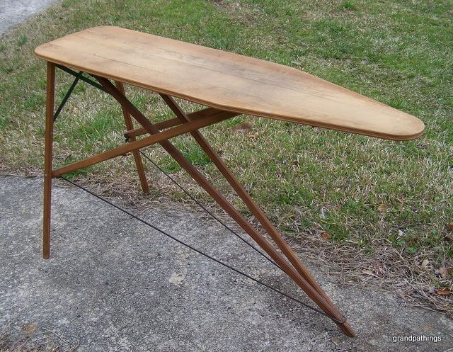 Antique Rid-Jid Ironing Board by JR Clark Co. Edit item   Reserve item  $135.00 DISCOUNTS