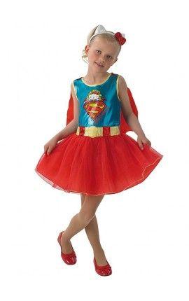 disfraz de supergirl hello kitty para nia