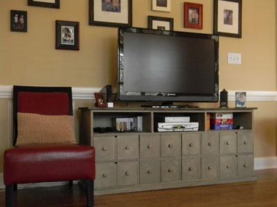 Carolina Farmhouse Apothecary Media Cabinet, $795, Handcrafted in NC
