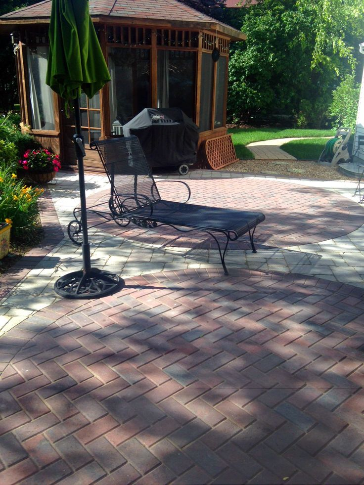 Unique Patio Design By Suburbs Of Chicago Patio Builder