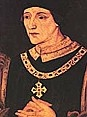 Henry VI 1422 - 1461, 1470 - 1471    Age 1-40 (approx)  Born: 6 December 1421 at Windsor Castle   Parents: Henry V amd Catherine of Valois  Ascended to the throne: 1 September 1 1422  Crowned: 6 November 1429 at Westminster Abbey. Also crowned Henri II of France, December 1431, Cathedral of Notre Dame, Paris.  Married: Margaret, Daughter of Count of Anjou  Children: One son  Died: 21 May 1471 at Tower of London (murdered), aged 49