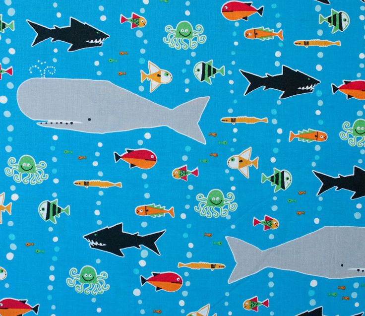 17 best ideas about ocean themed fabrics on pinterest for Fishing themed fabric