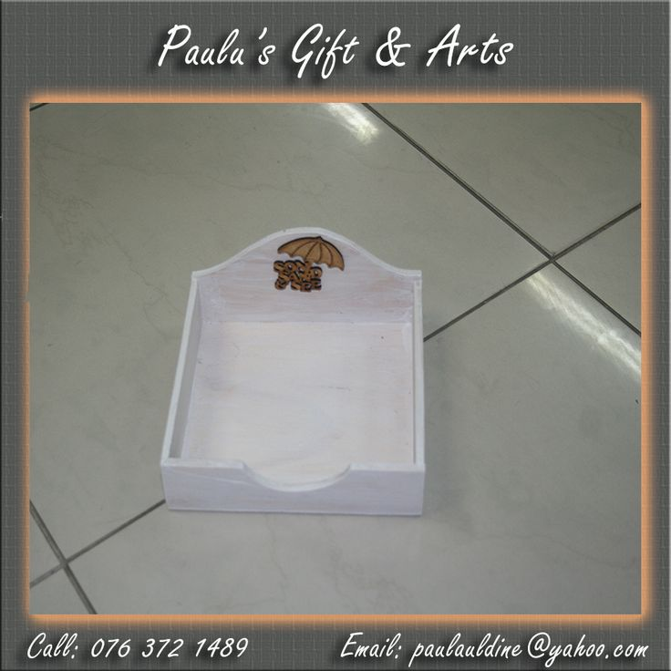 This white serving tray is in store. Call us on: 076 372 1489 #Gifts #Arts #Crafts