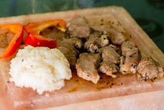 Гималайская розовая соль: ужин на гималайской плитке от hpcsalt.ru