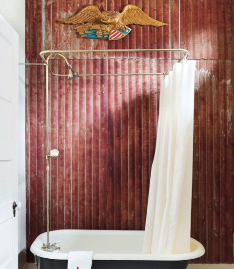 90 Inspiring Bathroom Decorating Ideas Corrugated Metal