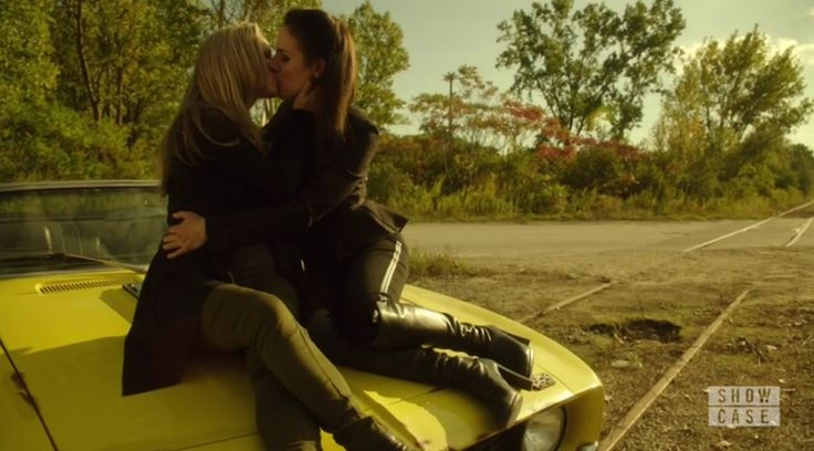 Lost Girl - Zoie Palmer as Lauren and Anna Silk as Bo