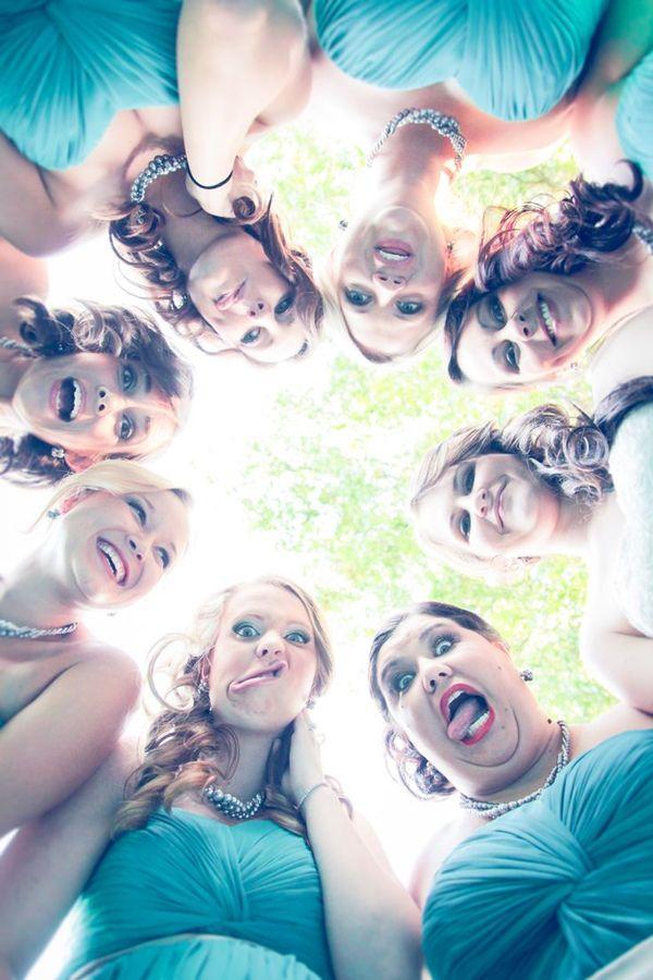 funny bridesmaid wedding photo ideas