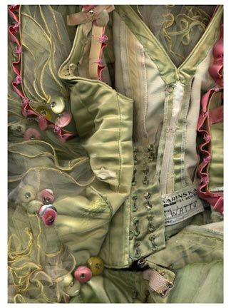 """New York City Ballet - """"The Nutcracker""""- Sugarplum Fairy green costume.  This photo is from series of prints by photographer Carin Ingalsbe."""