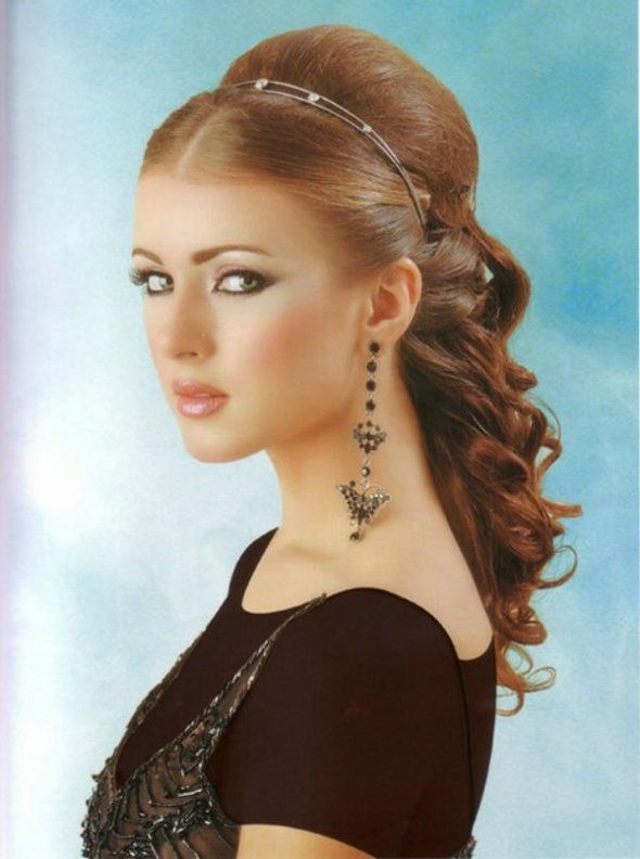 Hair Style For The Maid Of Honor That S You Heather D