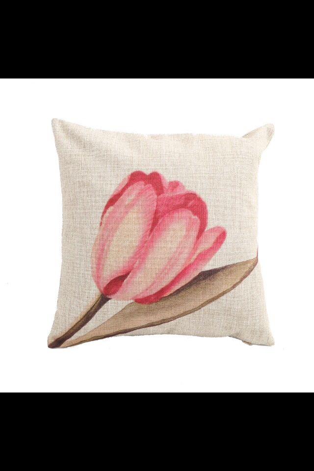 Cojín de Tulipán