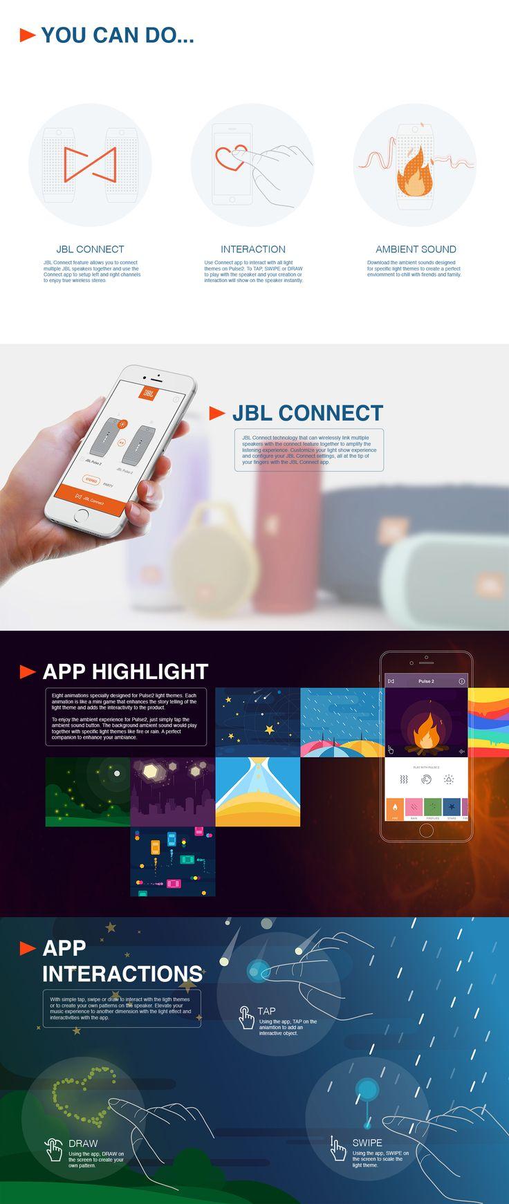 Jbl connect app on behance
