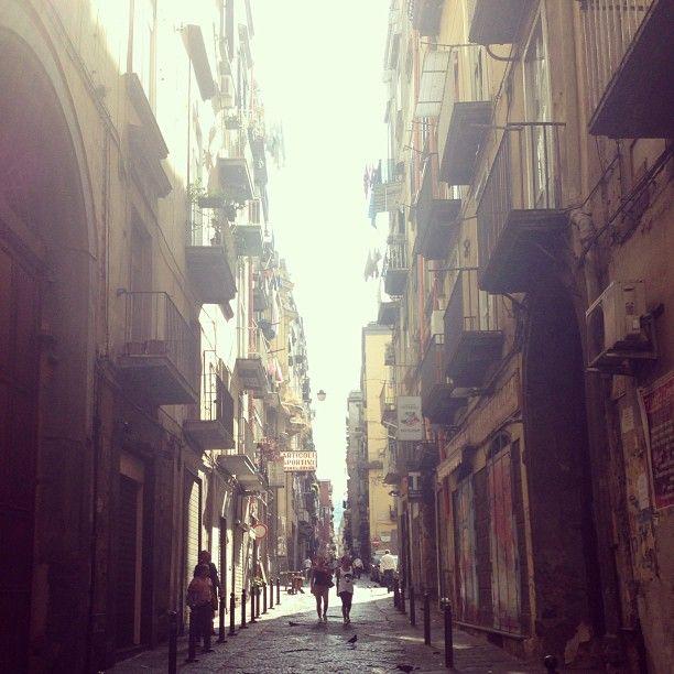 via san biagio dei librai nel Napoli, Campania