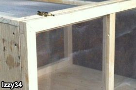 DIY Wooden Enclosure. A step-by-step guide to building a simple wooden cage for less cost than a commercial cage to house bearded dragons. BeardedDragon.org