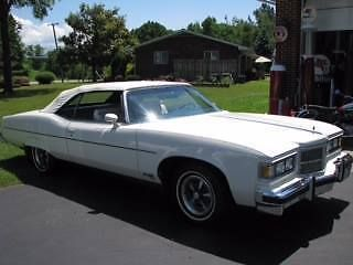 1975 Pontiac Grandville Brougham (VA) - $19,000 Please call Shirley or Gary at 540-949-6087 to see this original.