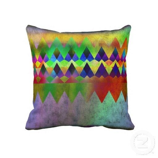 Campfire - by Greta Thorsdottir - Pillow from Zazzle