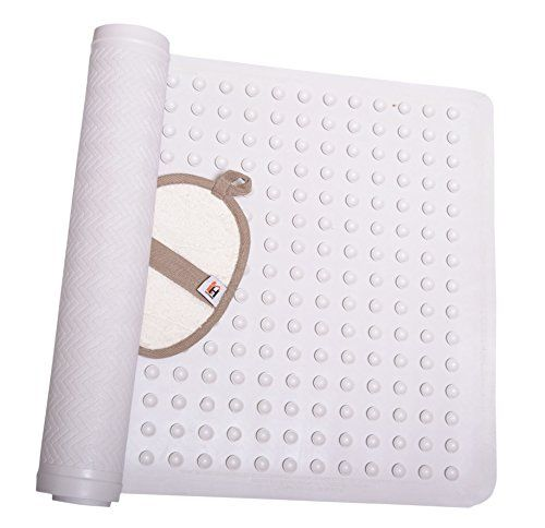 Amazon Lightning Deal 86% claimed: Non Slip Bath Mat Anti-Bacterial Deluxe Shower Mat 16 X 28 inches Fits Any Si... #LavaHot http://www.lavahotdeals.com/us/cheap/amazon-lightning-deal-86-claimed-slip-bath-mat/133721