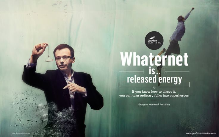 #whaternet is... released #energy. If you know how to direct it, you can turn ordinary people into superheroes.