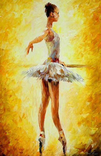 IN THE BALLET CLASS by Leonidafremov.deviantart.com on @deviantART