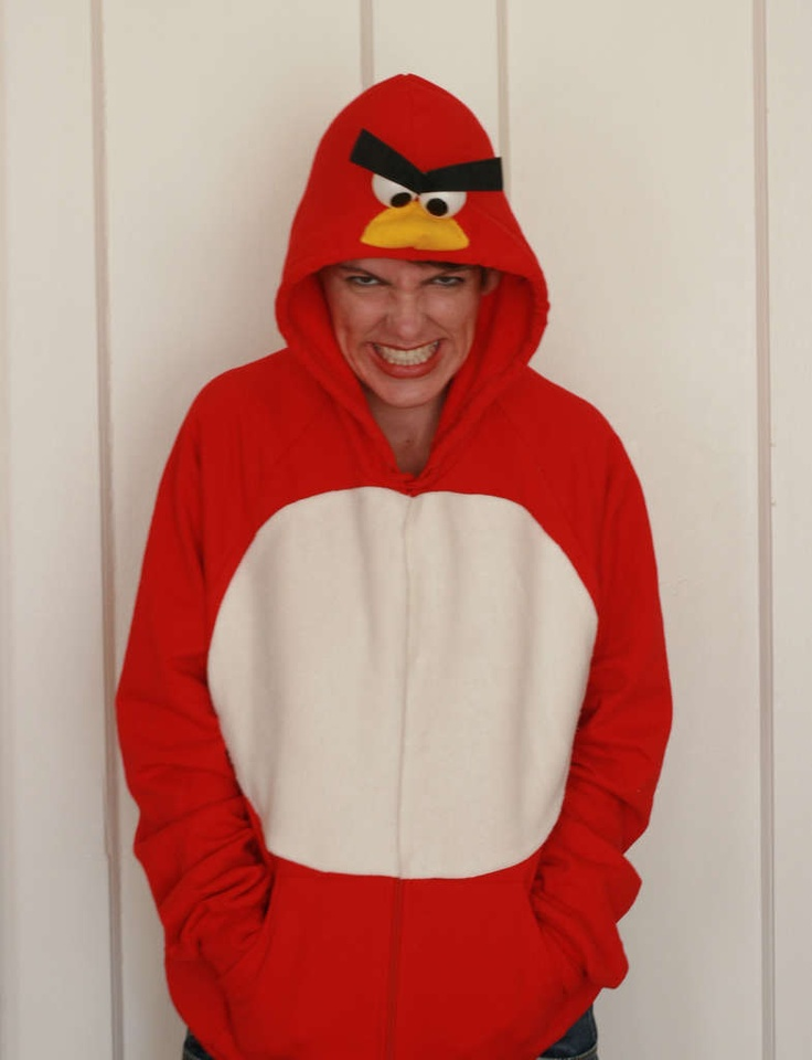 I am so doing this for Halloween!!! Hoodie costume =]