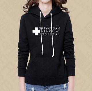 Grey's Anatomy women fleece hooded sweatshirt