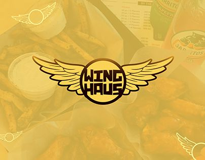 """Check out new work on my @Behance portfolio: """"WingHaus — identity elements"""" http://be.net/gallery/57484245/WingHaus-identity-elements"""