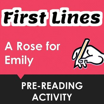 reading response a rose for emily Faulkner's well-read a rose for emily has been variously interpreted as a mere  horror  revulsion the pattern of this response to miss emily may be roughly.