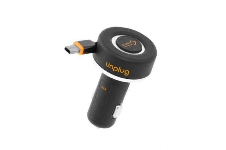 ¡Comprar Ahora! - Cargador retráctil car 1A mini USB Unplug $ 76,400