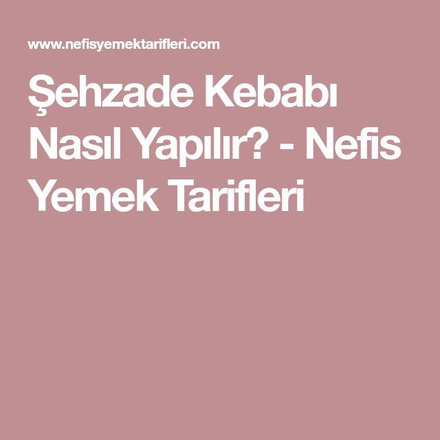 Şehzade Yastığı Tarifi
