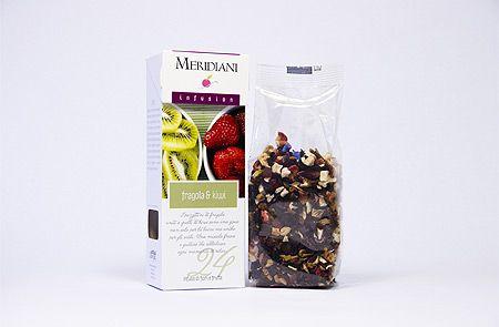 """#Infuso """"Fragola e Kiwi"""" A chi ama la #frutta in pezzi, un infuso tutto da mordere! http://www.union-jack.it/shop/infusi/infusi/fragola-kiwi.html"""