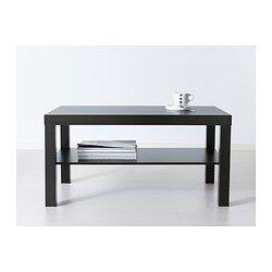 LACK Table basse - brun noir - IKEA