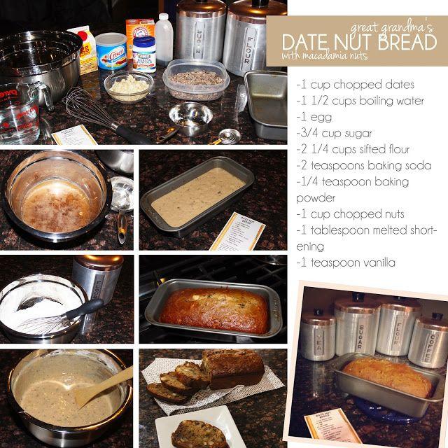 Date nut bread in Sydney