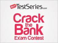 Crack the Bank Exam Contest. Bank PO test series, Online Test series, ibps po, ibps clerk test series